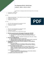 Questions Regarding API 650