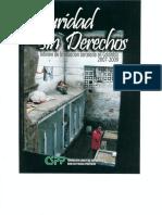 Seguridad Sin Derechos Informe Situacion Carcelaria 2007-2009