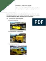 Transporte y Extraccion Minera