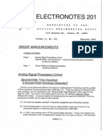 Electronotes 201
