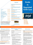 parents guide to regulated child care