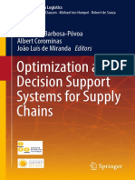 (Lecture Notes in Logistics) Ana Paula Barbosa Póvoa, Albert Corominas, João Luís de Miranda (Eds.)-Optimization and Decision Support Systems for Supply Chains-Springer International Publishing (2017)