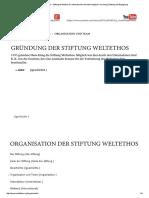 Organisation Und Team • Stiftung Weltethos Für Interkulturelle Und Interreligiöse Forschung, Bildung Und Begegnung