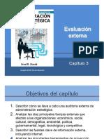 Auditoría externa de una organización