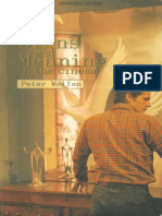 Peter Wollen Signs and Meaning in the Cinema Expanded Edition