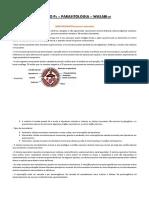 Resumo de Parasitologia Farmacêutica