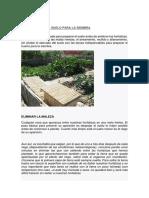 PREPARACIÓN DEL SUELO, PARA LA SIEMBRA