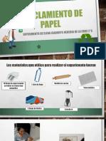 Reciclamiento de Papel.