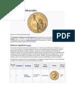 Dólares Presidenciales