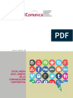 Social Media en El Ámbito de La Comunicación Corporativa
