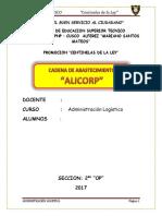 monografia alicorp