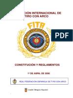 Reglamento Fita 2006