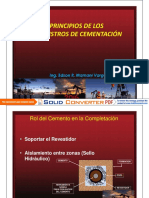 Evaluacion de Cementacion