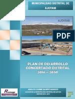 PDC AJOYANI 2016 - 2030 (LISTO FINAL).pdf