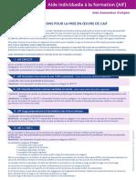Formulaire PE Demande Aide Individuelle a La Formation