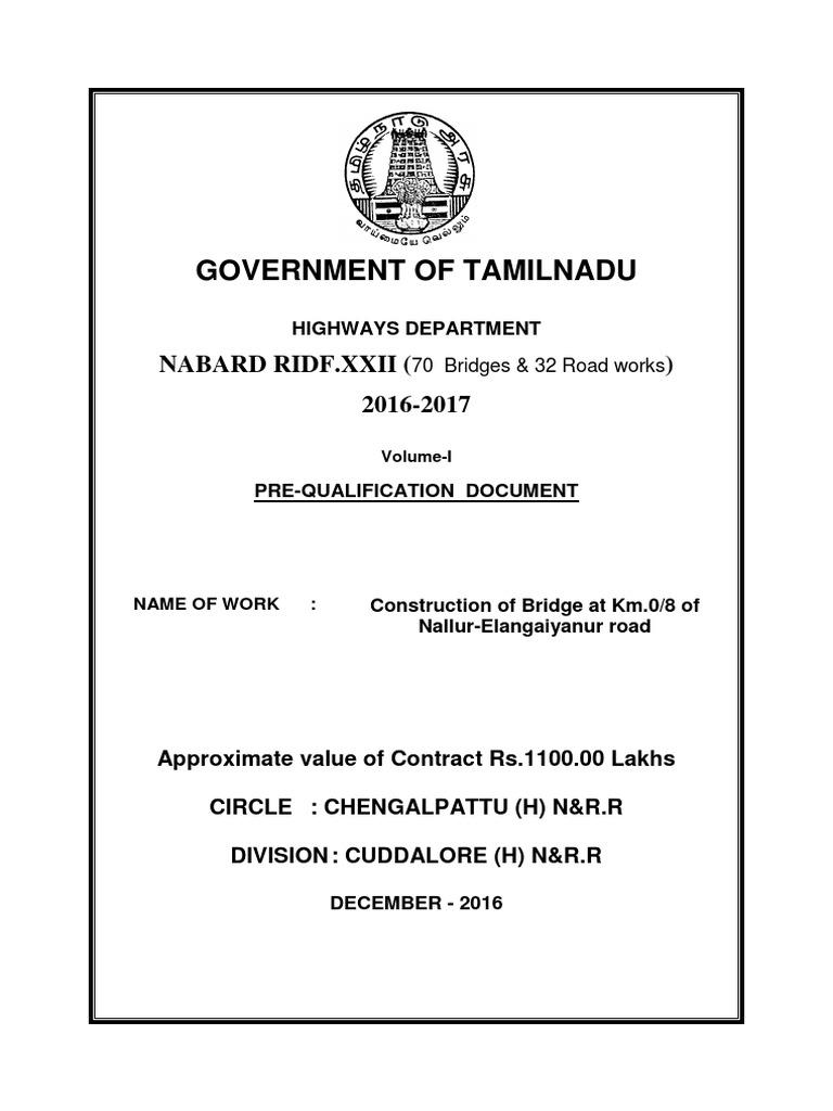 Tdhwa134763nallur elangiyanallur bridge volu i pq pdf tdhwa134763nallur elangiyanallur bridge volu i pq pdf general contractor partnership aiddatafo Images