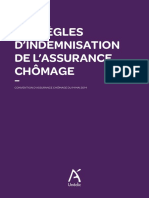 Regles Indemnisation Assurance Chomage - Janvier 2015 Web