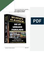 (2015) Julio (Exracto) Volumen 27 de Lo Urbano Fabulado