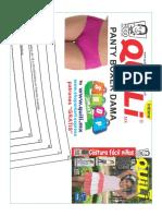 Panty Boxer Ferias 4 Paginas