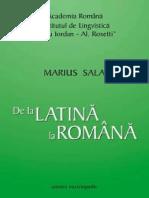 Marius Sala, De la latina la romana.pdf