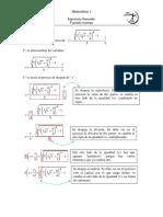 ejercicio modelo de función inversa