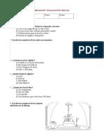 8 Prueba de Conocimientos Generales Secundaria