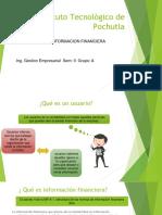 USUARIOS DE LA INFORMACION FINANCIERA