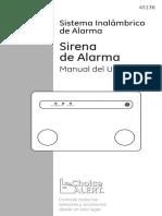 Manual Sirena Con Alarma