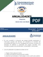 Exposicion Anualidades