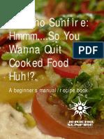 Fruitarian Recipe Manual