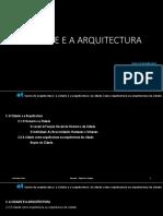 A Cidade e a Arquitectura - Noção de Cidade (1)