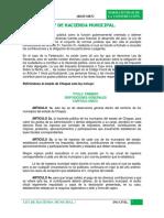 Ley de Hacienda Municipal Resumen
