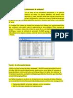 Formatos Tabulares Relación Entre Tablas
