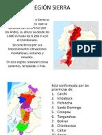 Geografia Región Sierra