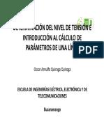 Jitorres_3-Nivel de Tensión y Definición de Parámetros