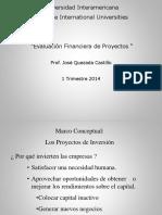 Evaluaciíón Financiera de Proy.
