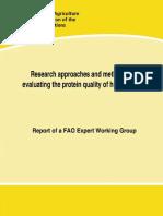 FAO 2014 Evaluaciòn Calidad Proteica