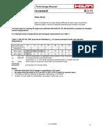 EC A08 Serviceability Limit State