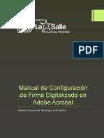 Configuración de Firma Digitalizada en Adobe Acrobat