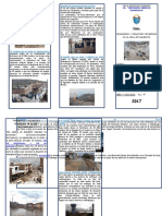 Desastres Ocurridos en El Peru Triptico
