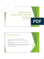 Materiales Cerámicos I