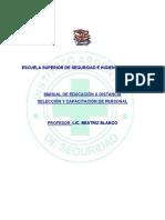 Manual Selección y Capacitación de Personal