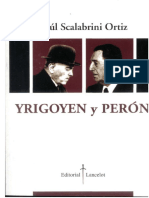 Scalabrini Ortiz Yrigoyen Peron
