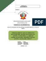 TDR Centro Salud San Anton