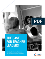 The Case for Teacher Leaders