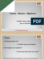 Vision Mision Objetivos
