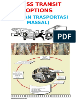 Cover TRANSPORT Mass Transit Options