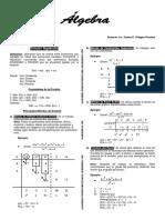 División Algebraica - Teoría y Problemas