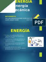 Energia y energia mecanica