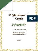 O Paradoxo do Crente